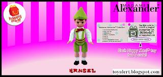 McDonalds Madame Alexander 2010 - US Release - Hansel