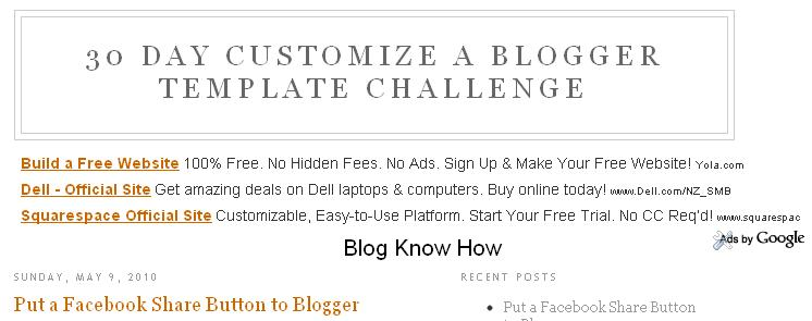 How to Remove or Change the Blog Title Border in Blogger (Blogspot ...