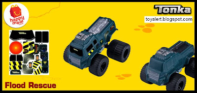 McDonalds Tonka Happy Meal toys 2011 - Flood Rescue