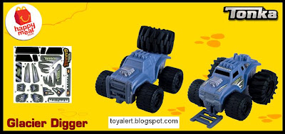 McDonalds Tonka Happy Meal toys 2011 - Glacier Digger