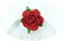 Filigree Rose Favor Box