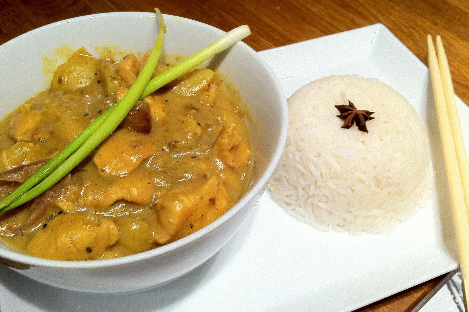 curry popcorn coconut curry tofu massaman and coconut curry sorbet ...