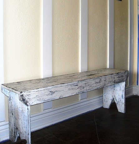 Creative Ideas For You Distressed Bench Plans From