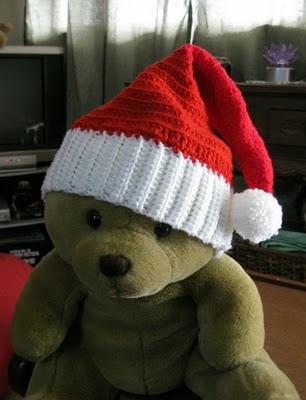 Crochet Pattern For Baby Santa Hat