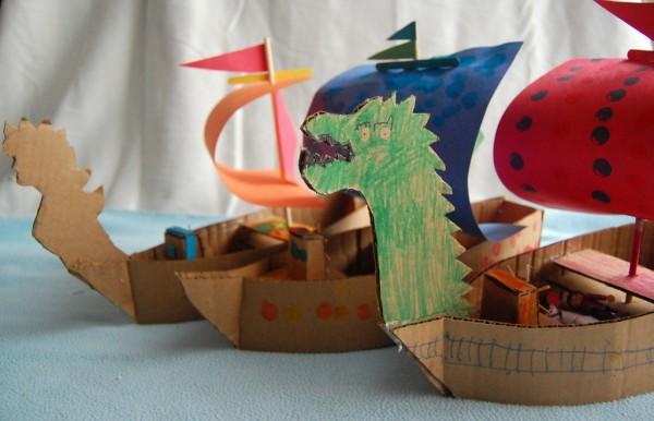 How To Make A Cardboard Pirate Ship