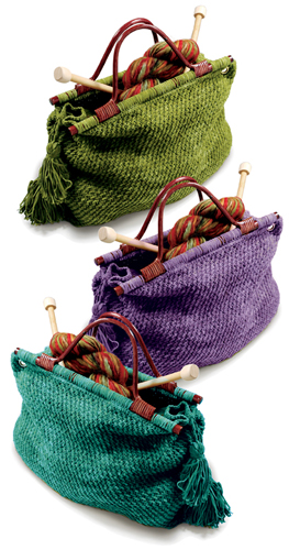 Creative ideas for you: Knitting Tote - Free Pattern