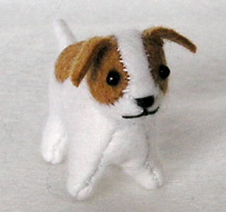Creative ideas for you: Free Stuffed Dog Pattern and Tutorial