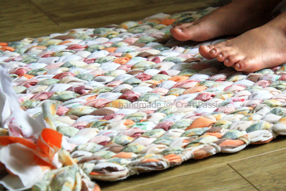 Creative Ideas For You DIY Woven Rag Rug