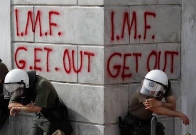 IMF = Debt slavery