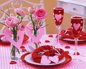 Valentine table decorations Index of /