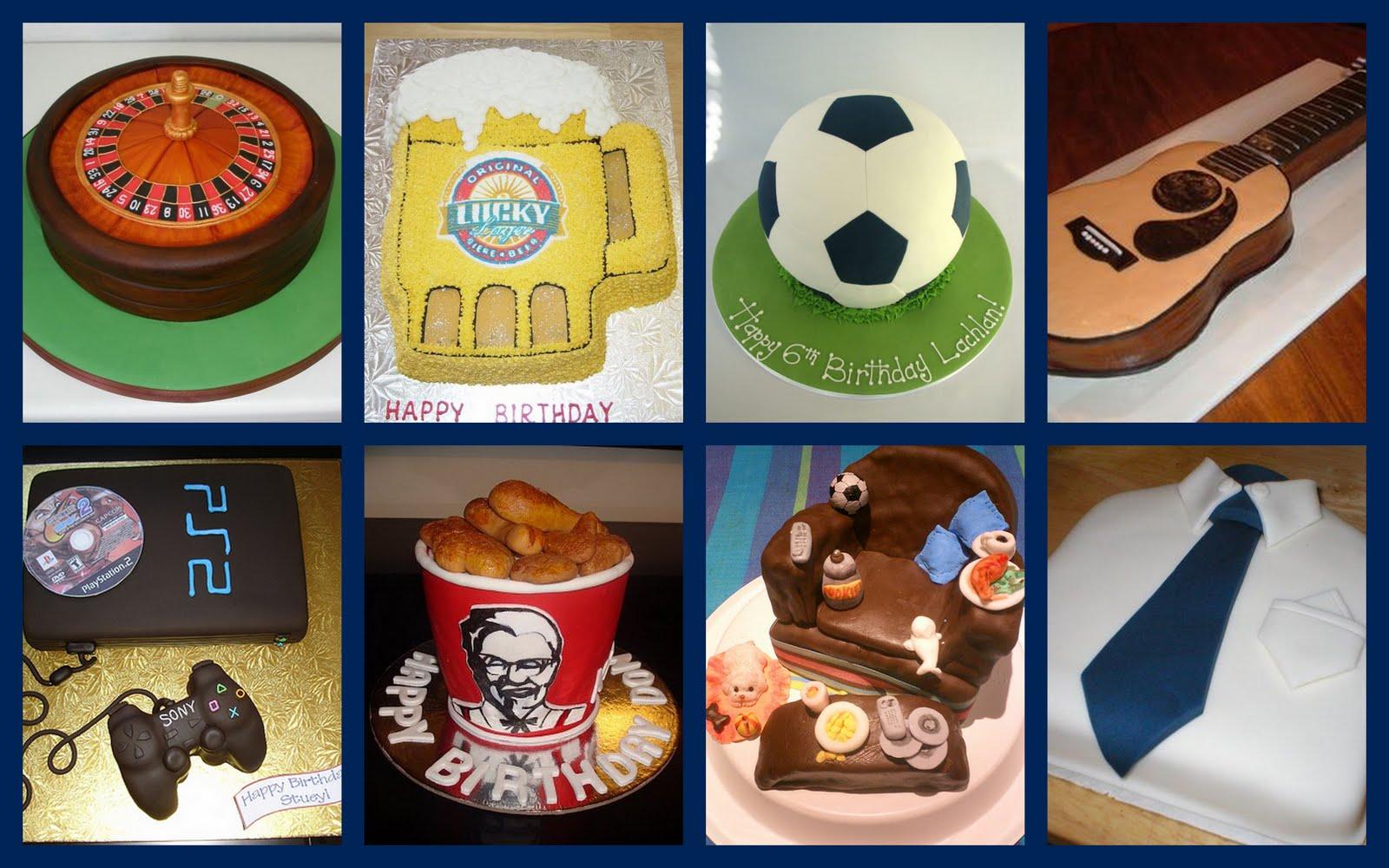 O Cantinho da Noiva: Ideias de bolos de aniversário para ...