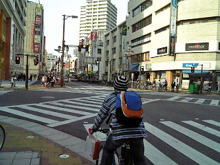 crossing in central funabashi