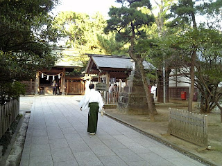 precinct of the shrine
