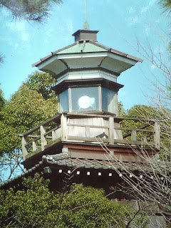 lighthouse in funabashi shrine