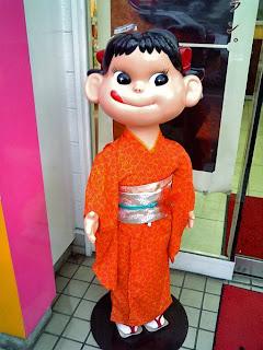 Peko-chan wearing Kimono