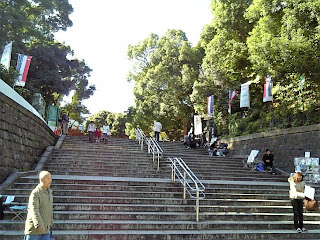 stairway to ueno park