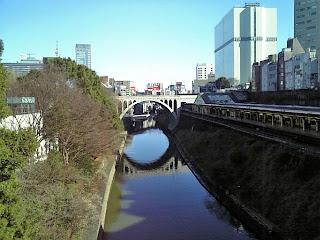 hijiri-bashi and kanda-gawa(river)