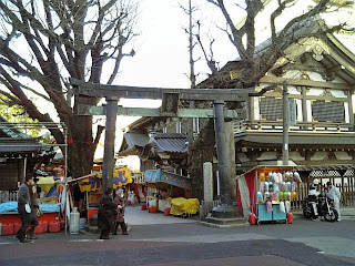 entrance of yushima tenjin