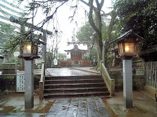 precinct of funabashi shrine