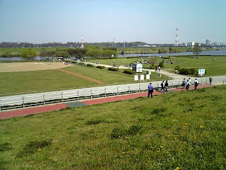 bank of edo-gawa(river)
