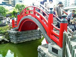 bridge in kameido tenjin