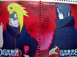 Deidara and Itach Uchiha