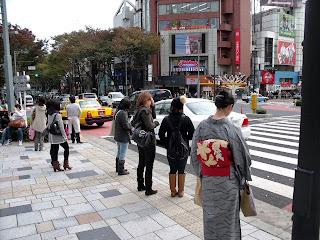 Omotesando in late autumn