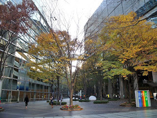 plaza of Tokyo International Forum