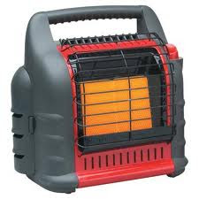 Outdoor propane heaters