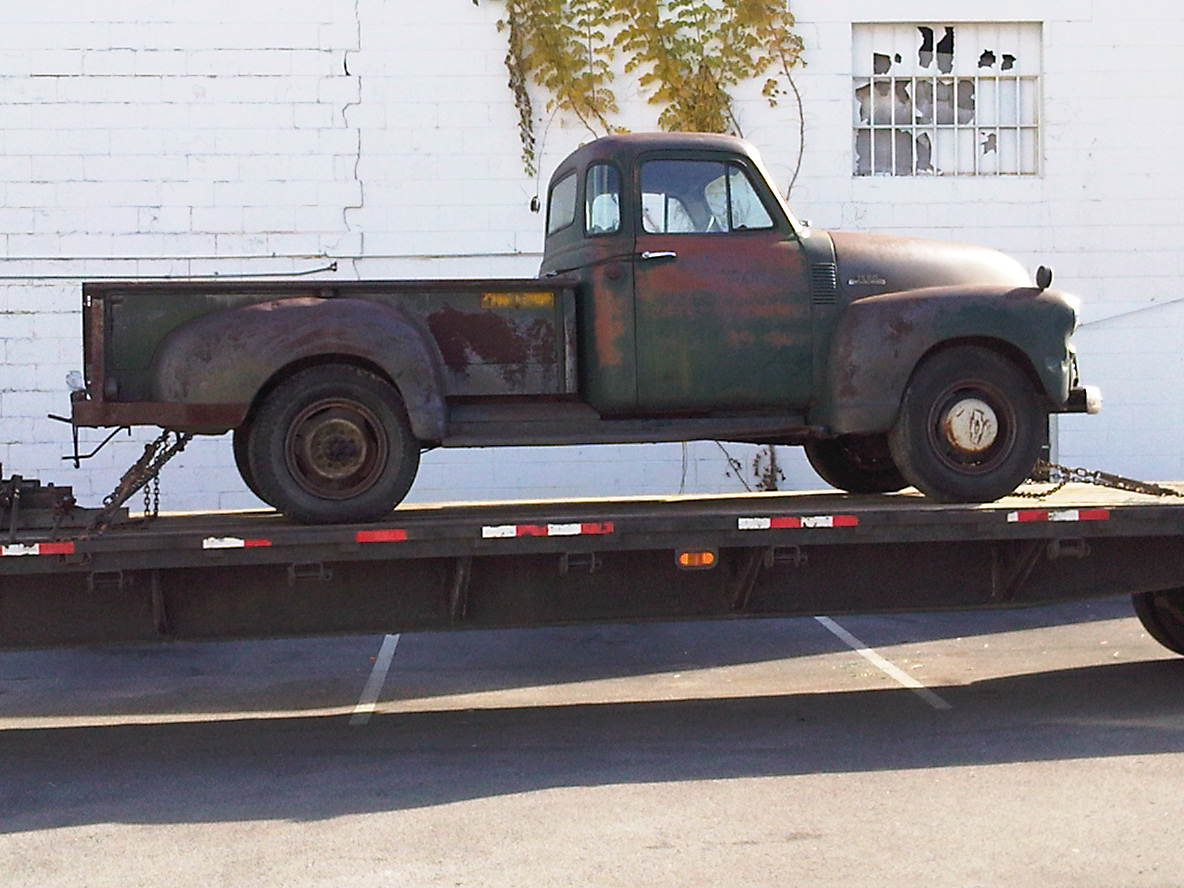 1954 Chevy Truck Ev Conversion Pickup
