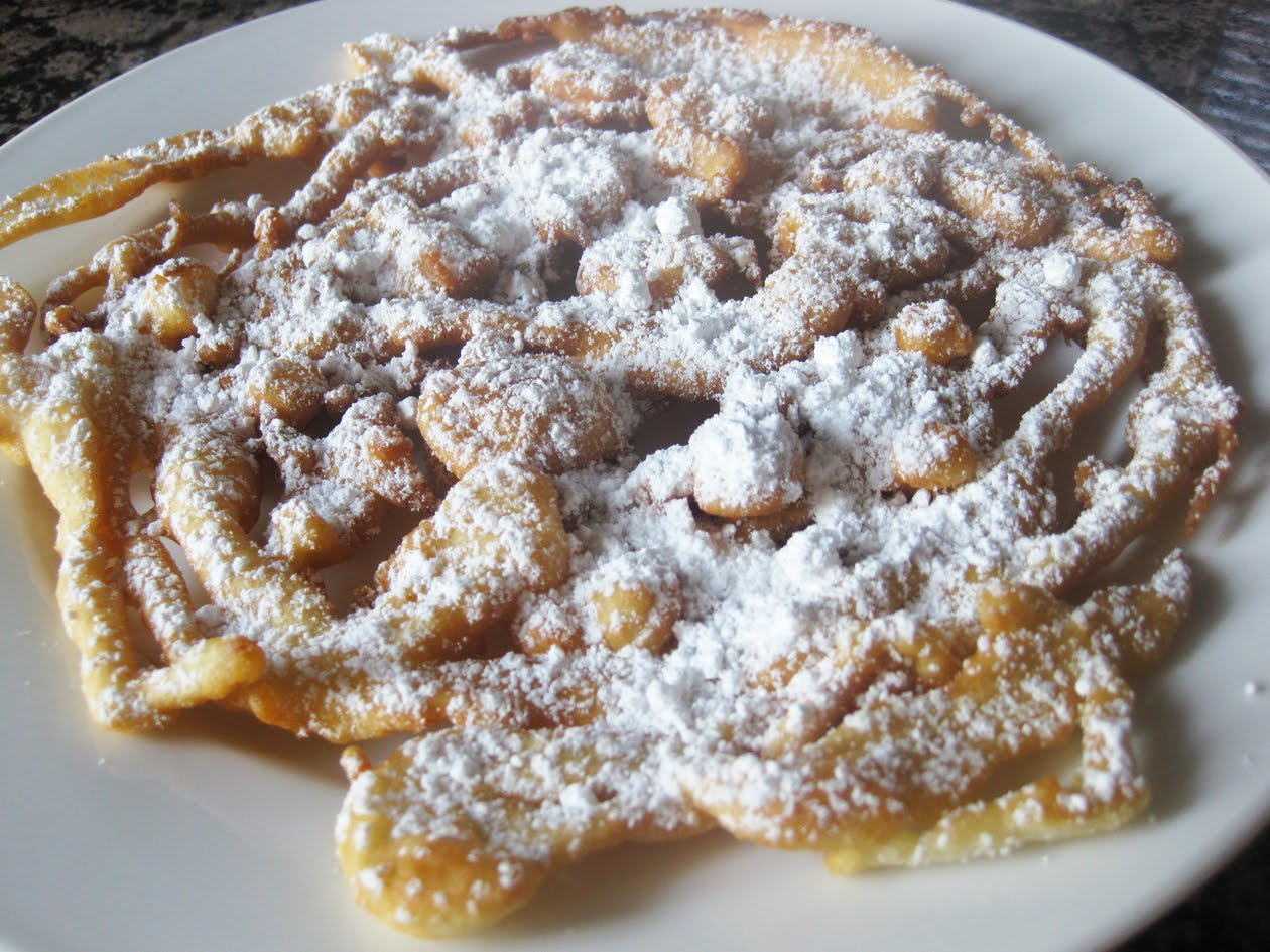 Funnel Cakes: Easy (and yummy) fix for breakfast or dessert!