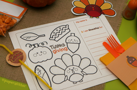 Frugal life project free printable thanksgiving fall kit