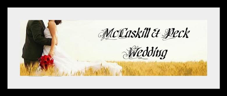 McCaskill & Peck Wedding