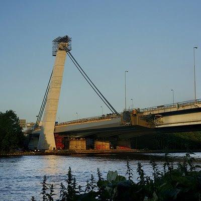 Onderhoud Muiderbrug A1 Muiden