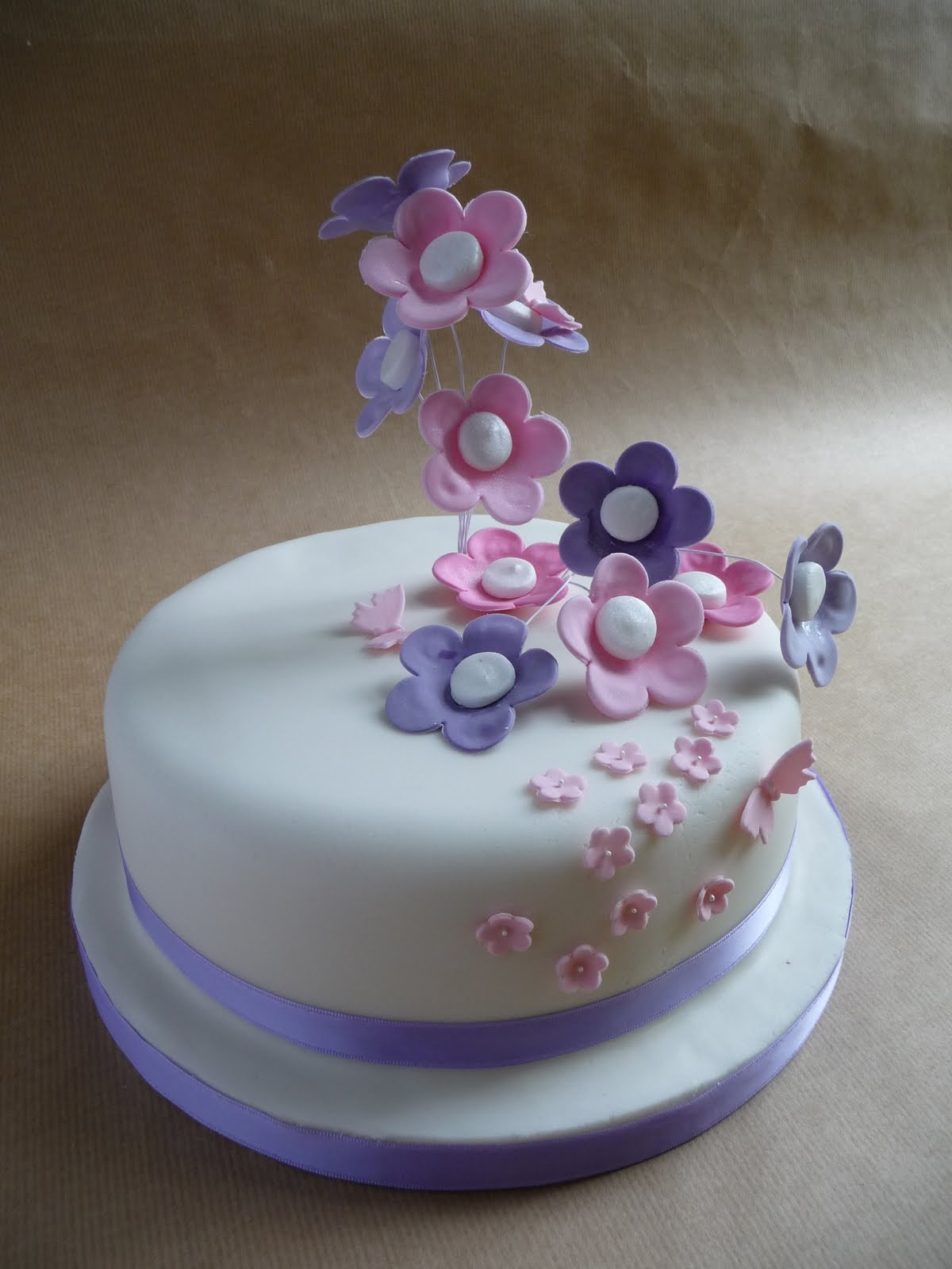 Wedding anniversary flowers buy a cake