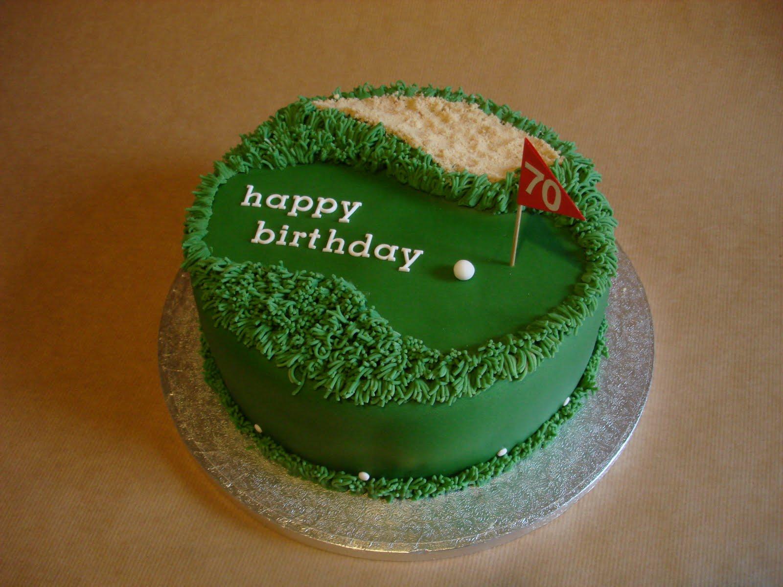 Golfers Cake Buy A Cake