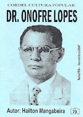 Cordel: Dr. Onofre Lopes, nº 70. Novembro/2007