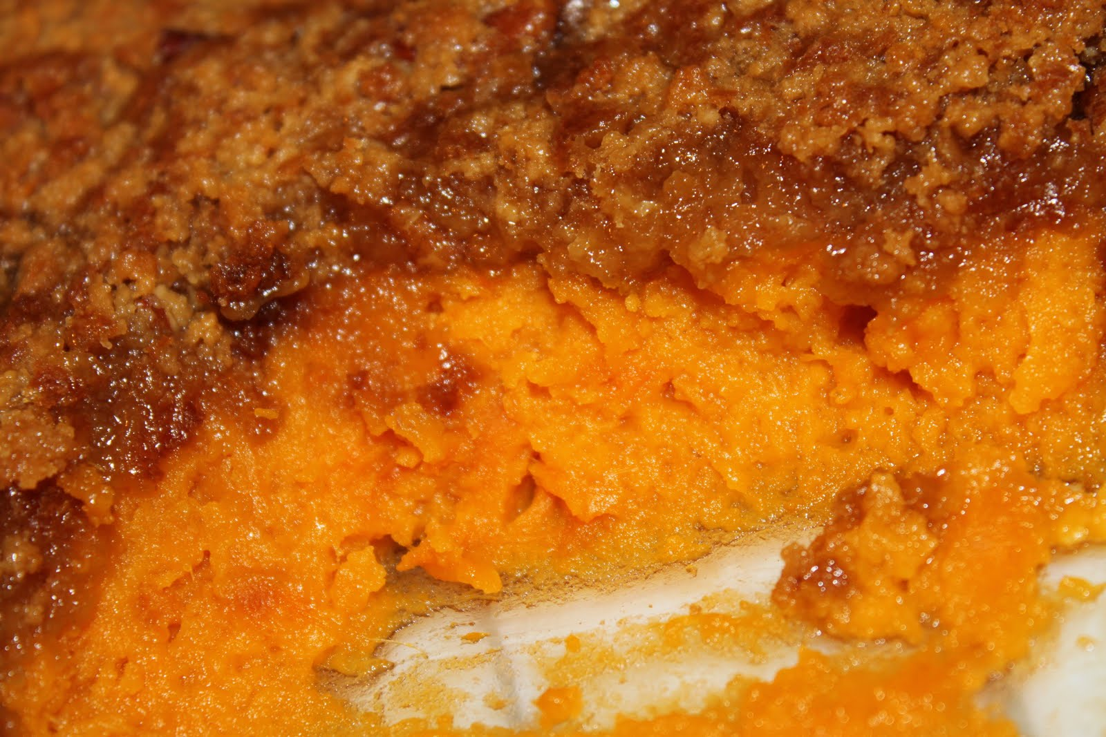 My View From The Avenue Sweet Potato Casserole