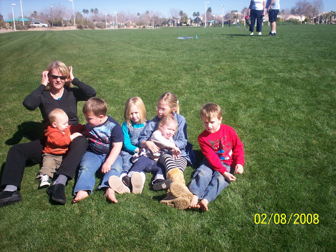 Ashcroft/Greer Grandkids With Grandma Greer