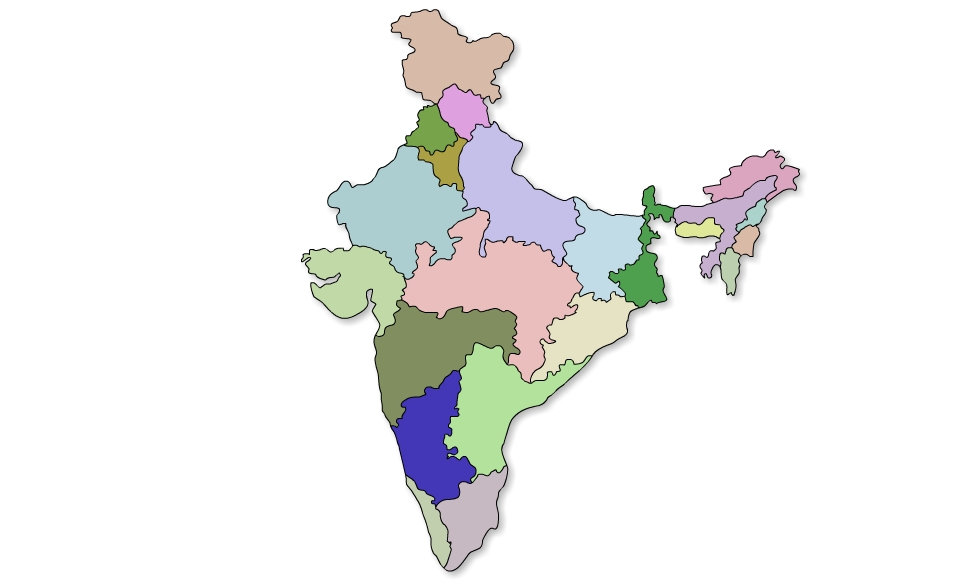 Vector India Map