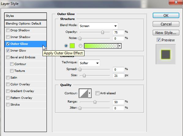 Espiral de neón con PS ScreenShot006
