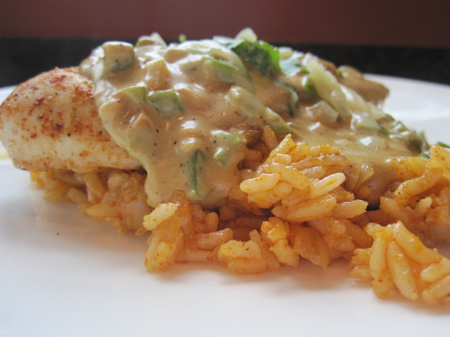 Jalapeno Popper Chicken with Sauce