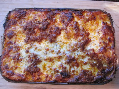 "Stirring the Pot: Michael Symon's Mom's ""Bellybuster"" Lasagna"