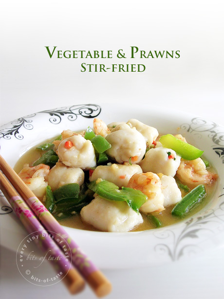 Vegetable & Prawns Stir-fried