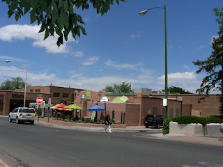 cafe in downtown Santa Fe