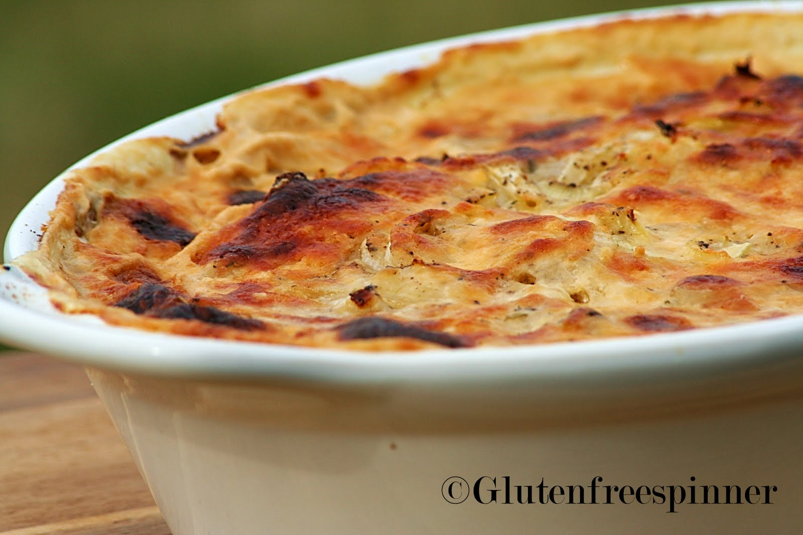 Creamy Au Gratin Potatoes Recipe — Dishmaps