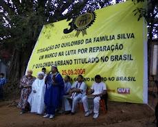 Banner Titulação Quilombo Família Silva