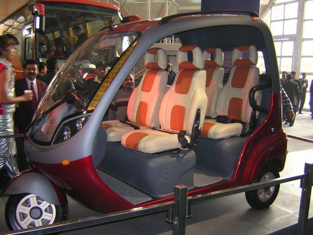 are concept auto rickshaws