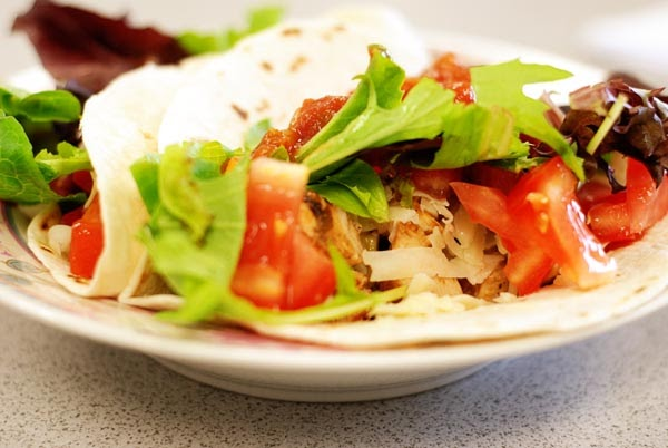 In Her Kitchen: Lime Chicken Soft Tacos