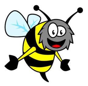 honey is very healthy cartoon
